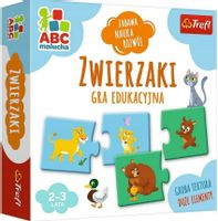 Gra edukacyjna Trefl ABC Malucha Zwierzaki