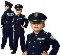 POLICJANT Amerykański USA Strój KARNAWAŁOWY 116