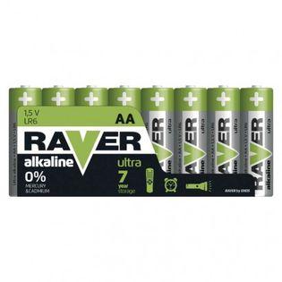 Bateria alkaliczna Raver Ultra Alkaline AA (LR6) folia 8