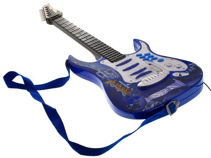 Gitara elektryczna dla dzieci Mikrofon Wzmacniacz IN0018 zdjęcie 1