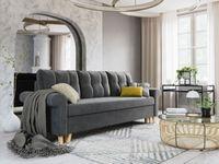 Sofa Wersalka z tkaniny welurowej