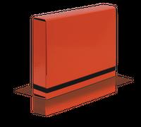 TECZKA A4 BOX CARIBIC J.CZERW. VAUPE 341/2