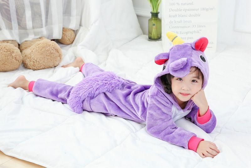 Piżama przebranie fioletowy pegaz M zdjęcie 2