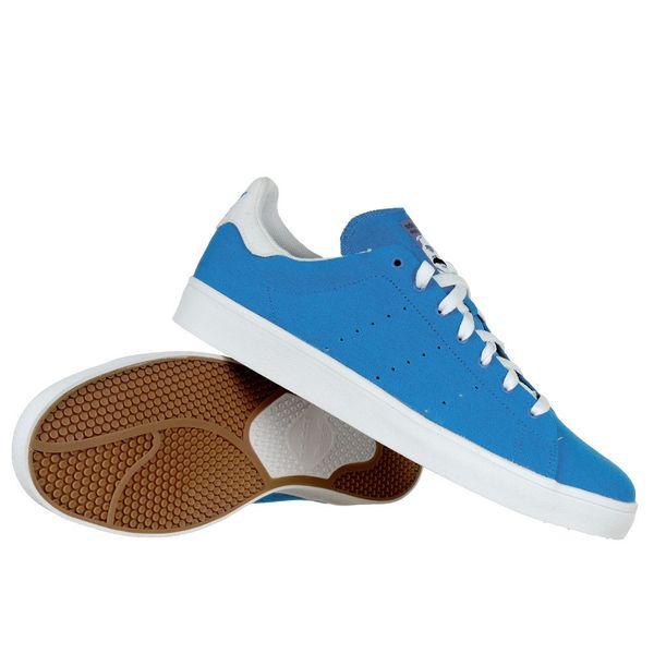 Adidas Originals Stan Smith BZ0651 Szare buty Wysokie zIma Męskie 44
