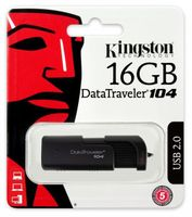 Pendrive 16GB KINGSTON USB 2.0 DataTraveler 104