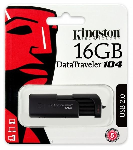 Pendrive 16GB KINGSTON USB 2.0 DataTraveler 104 na Arena.pl