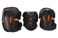 Ochraniacze komplet czarno-pomarańczowe Axer rozm. XL