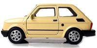 METALOWY FIAT 126p MALUCH Samochód PRL Auto Welly 1:34