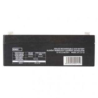 Akumulator AGM 12V 2,2Ah faston 4,7