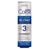 Ultra Color Pigment tonujący kolor włosów Srebrny Blond 100ml