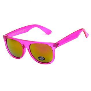 Okulary przeciwsłoneczne Crystal Pink Mirror HIT