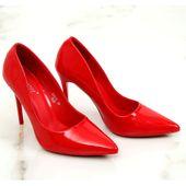Szpilki damskie czerwone LE03P Red r.36