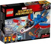 Lego Super Heroes Odrzutowiec Kapitana Ameryki