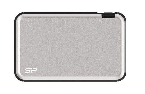 Powerbank Silicon Power GD27 5000mAh 2xUSB Typ A + 1xMicroUSB srebrny