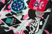 Plecak szkolny CoolPack Dart XL 27 L, Camo Pink Badges A29112 zdjęcie 5