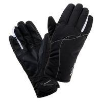 Damskie rękawice narciarskie Iguana Anzu zimowe snowboardowe czarne rozmiar S/M