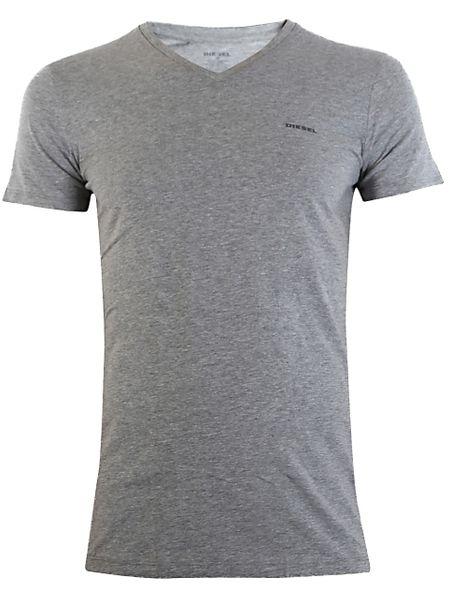 DIESEL UMTEE SHIRT JAKE V-NECK 3-PACK White/Grey/Black 00SPDM-0AALW-01 - XL zdjęcie 5