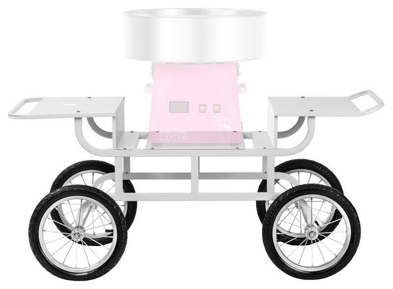 Wózek do waty cukrowej - 2 półki Royal Catering RCZT-01W zdjęcie 4