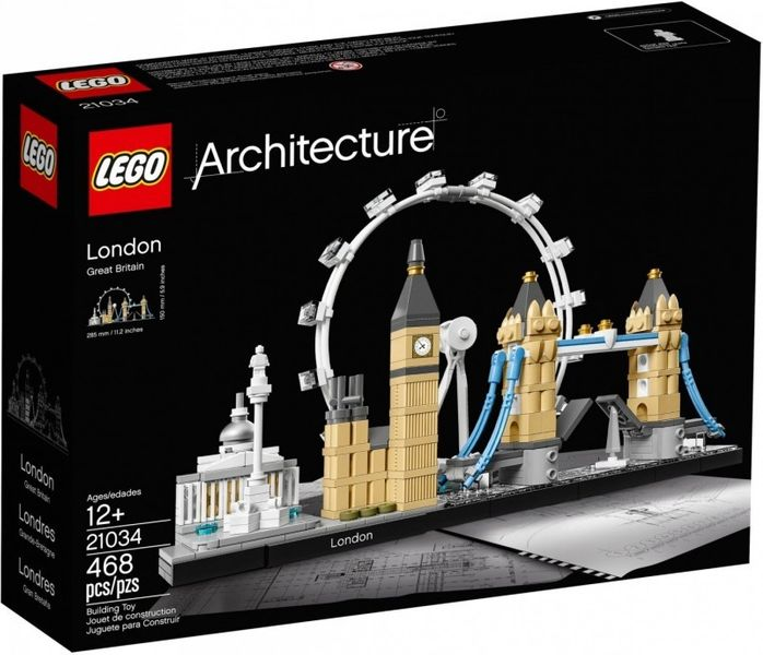 Lego Architecture Londyn na Arena.pl