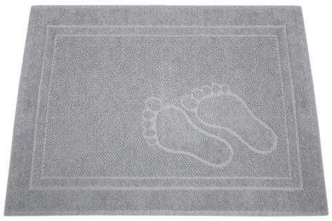 Dywanik łazienkowy Feet 50x70 Popiel Stópki Greno