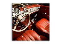 Zegar Ścienny - Samochód Retro - 60X60 Cm - C3Ac60X60-0149