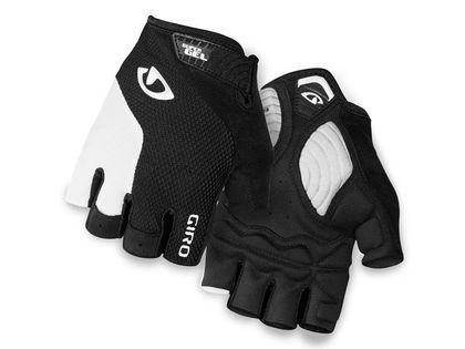 Rękawiczki męskie GIRO STRADE DURE SG krótki palec white black roz. XL (obwód dłoni 248-267 mm / dł. dłoni 200-210 mm) (NEW)