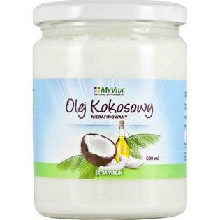 Myvita Olej Kokosowy Nierafinowany 500 Ml