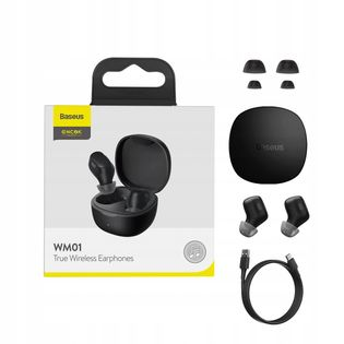 Zestaw słuchawkowy Bluetooth 5.0 Baseus WM01