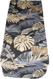 Bieżnik Obrus Palmy 40x120 Bawełniany Liście Liść