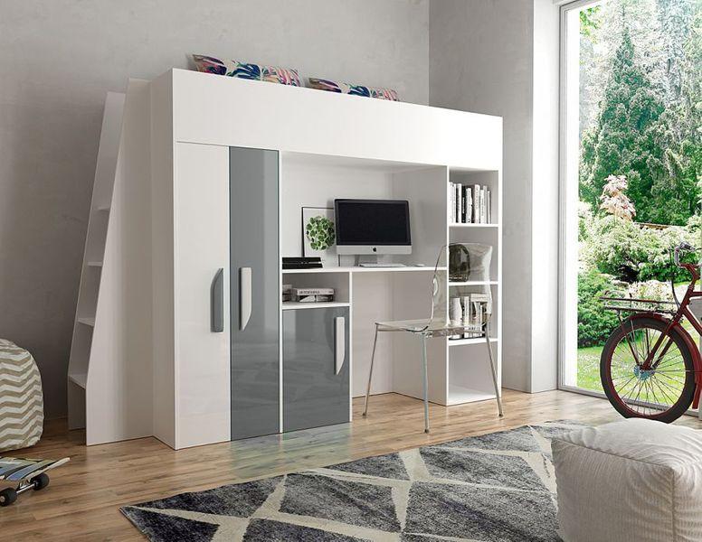 Łóżko piętrowe antresola LUX 15 zdjęcie 1