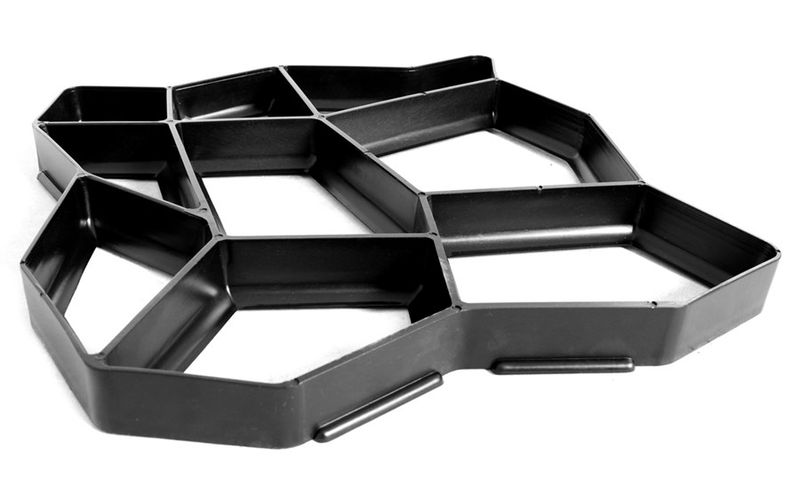 Kocie łby forma do kostki brukowej A - 50X50X4 cm zdjęcie 1