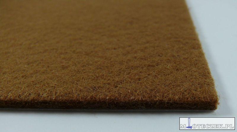 Arkusz filcu podkładki pod meble 200x150mm brąz zdjęcie 5