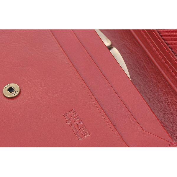 5f2bc9625a9c6 Portfel damski Puccini MU-1959 w kolorze czerwonym • Arena.pl