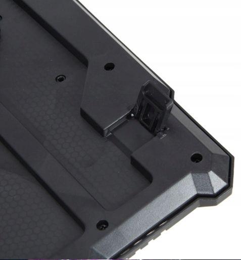 Podświetlana Klawiatura gamingowa dla graczy LED M166 zdjęcie 8