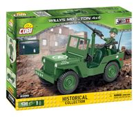 Klocki COBI 2399 Willys MB ¼ Tony 4x4 HISTORICAL COLLECTION