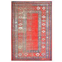 Dywan, czerwony, 140 x 200 cm, PP