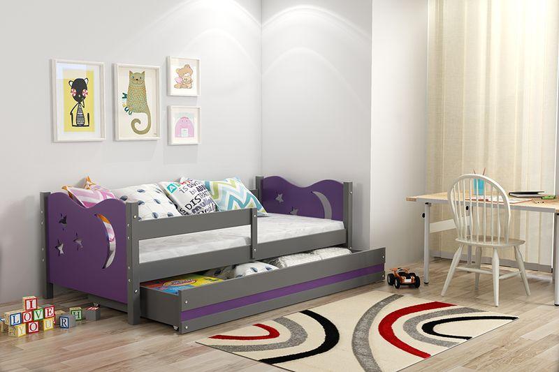 Łóżko łóżka Mikołaj dziecięce 160x80 parterowe + SZUFLADA zdjęcie 13