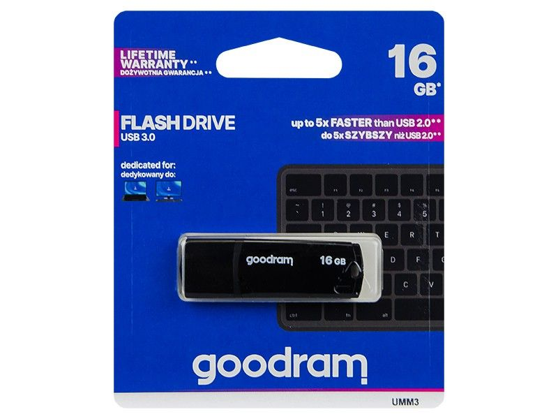 Pendrive 16GB GOODRAM USB 3.0 UMM3 na Arena.pl