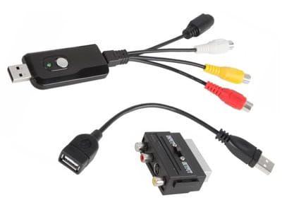 Video-Grabber USB przechwytywanie video Cabletech URZ0192 zdjęcie 1