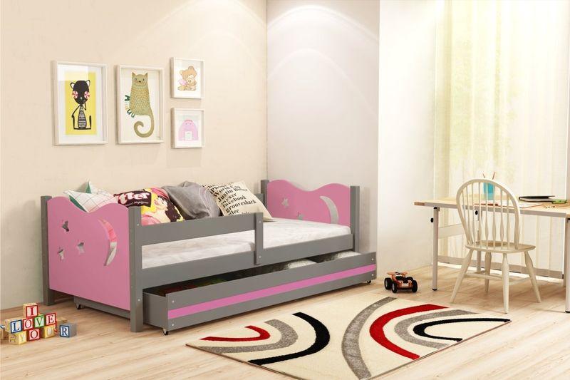 Łóżko łóżka Mikołaj dziecięce 160x80 parterowe + SZUFLADA zdjęcie 12