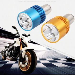 Żarówka BA20D 3 LED 9W zimna