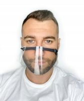 Przyłbica maska ochronna mini na nos i usta