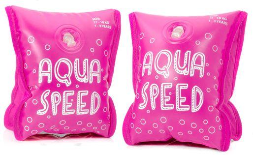 RĘKAWKI AQUA-SPEED PREMIUM Rozmiar - Akcesoria - Od 1 do 3 roku życia (waga od 11 do 18 kg), Kolor - Rękawki - Aqua-Speed Premium - 03 - różowy
