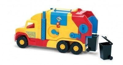 Super Truck Śmieciarka krótka WADER 36580 #A1 zdjęcie 2