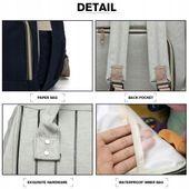 Plecak dla mamy damski elegancki vintage w paski KN61 zdjęcie 7