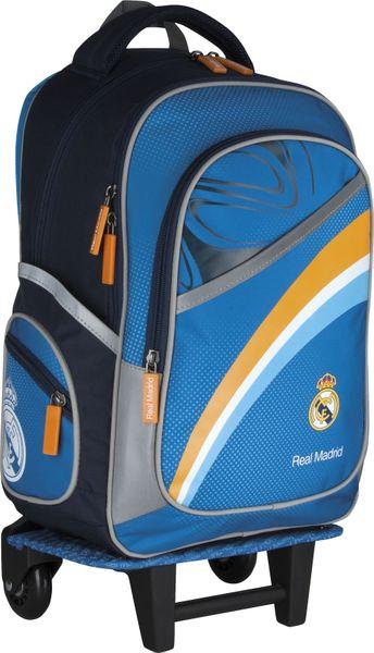 Plecak szkolny na kółkach Real Madyt + piórnik !!! zdjęcie 4