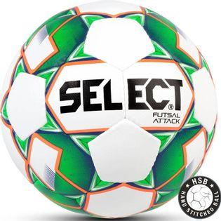 Piłka nożna Select Futsal Attack 2018 Hala biało zielona 13972