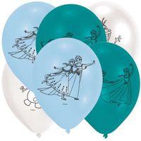 Balony FROZEN kraina lodu ELSA anna pastel mix x6