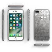 Ringke Air Prism Designerskie Żelowe Etui Pokrowiec 3D Iphone 8 Plus / 7 Plus Szary (Apap0008) zdjęcie 3