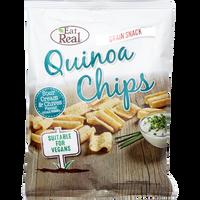 EAT REAL Chipsy z quinoa śmietanowo-szczypiorkowe 30g